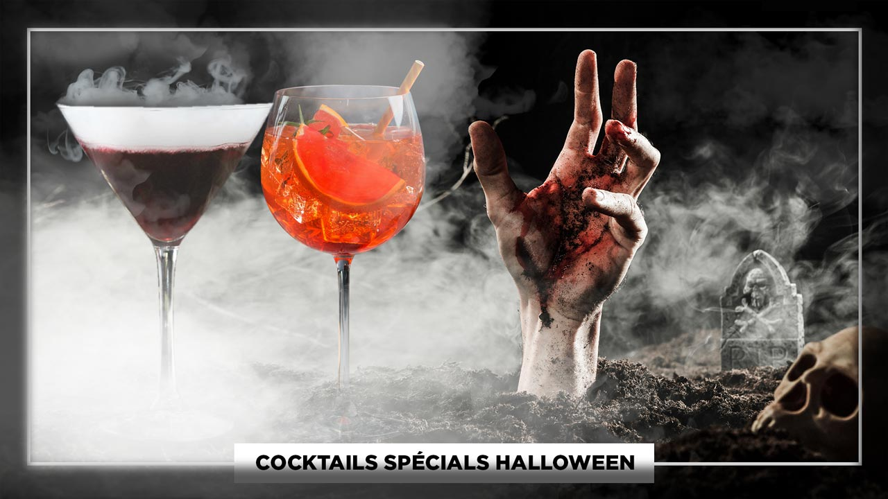 Cocktails Spécials Halloween