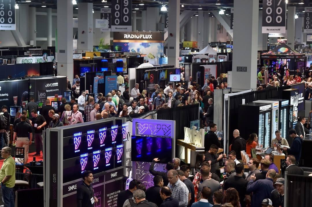 Trade Show Las Vegas Veloce POS system