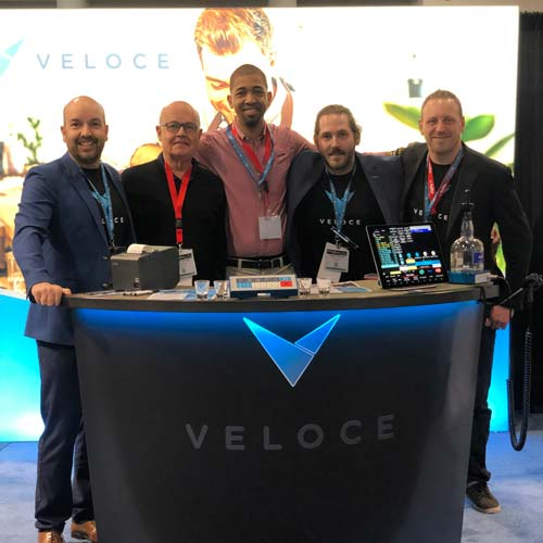 All the Veloce Team at Las Vegas Trade Show 2019